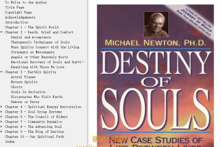 【配音频】Destiny of Souls: New Case Studies of Life Between Lives by Michael Newton(mobi,epub,pdf)