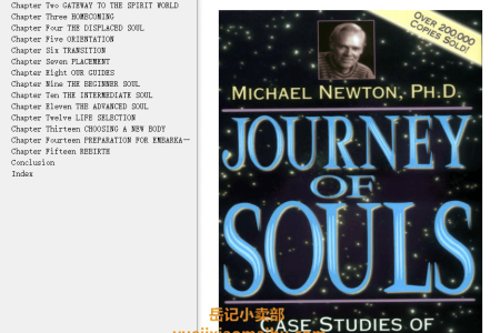 【配音频】Journey of Souls: Case Studies of Life Between Lives by Michael Newton(mobi,epub,pdf)
