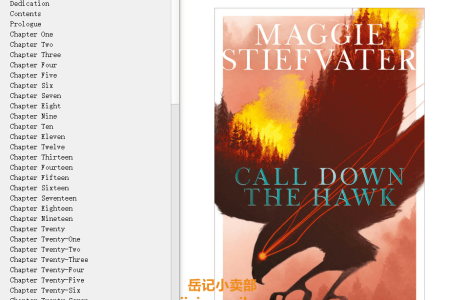 【配音频】Call Down the Hawk (Dreamer Trilogy #1) by Maggie Stiefvater(mobi,epub,pdf)