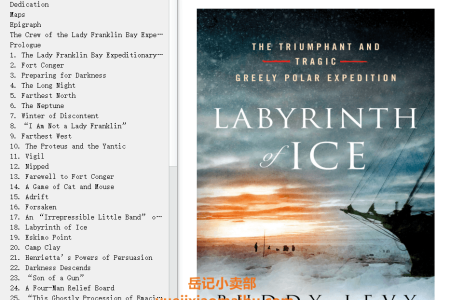 【配音频】Labyrinth of Ice: The Triumphant and Tragic Greely Polar Expedition by Buddy Levy(mobi,epub,pdf)