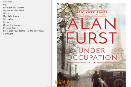【配音频】Under Occupation (Night Soldiers #15) by Alan Furst(mobi,epub,pdf)