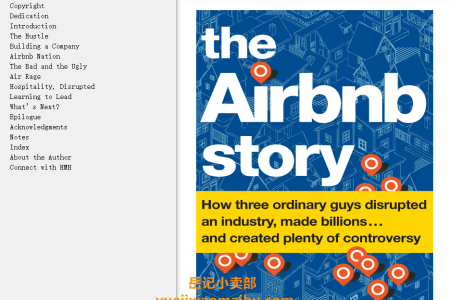 【配音频】The Airbnb Story: How Three Ordinary Guys Disrupted an Industry, Made Billions . . . and Created Plenty of Controversy by Leigh Gallagher(mobi,epub,pdf)