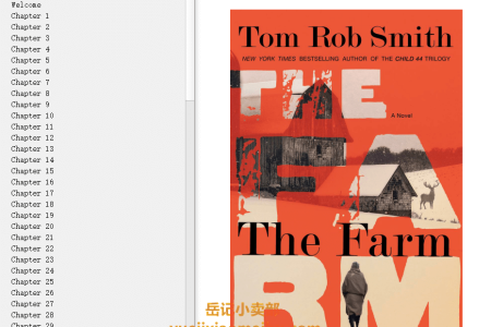 【配音频】The Farm by Tom Rob Smith(mobi,epub,pdf)