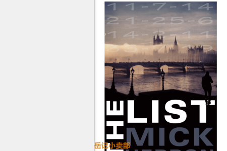 【配音频】The List (Slough House #2.5) by Mick Herron(mobi,epub,pdf)