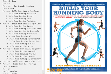 【电子书】Build Your Running Body: A Total-Body Fitness Plan for All Distance Runners, from Milers to Ultramarathoners—Run Farther, Faster, and Injury-Free by Pete Magill,  Tom Schwartz, Melissa Breyer(mobi,epub,pdf)
