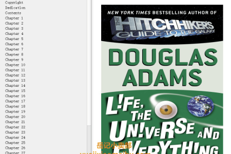 【配音频】Life, the Universe and Everything (Hitchhiker's Guide to the Galaxy #3) by Douglas Adams(mobi,epub,pdf)