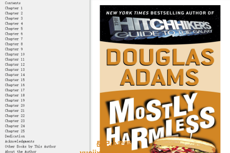 【配音频】Mostly Harmless (Hitchhiker's Guide to the Galaxy #5) by Douglas Adams(mobi,epub,pdf)