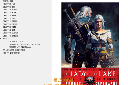 【配音频】Lady of the Lake (The Witcher #5) by Andrzej Sapkowski(mobi,epub,pdf)
