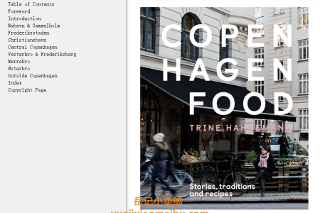 【电子书】Copenhagen Food: Stories, Tradition and Recipes by Trine Hahnemann(mobi,epub,pdf)