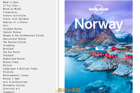 【电子书】Lonely Planet Norway  by Lonely Planet,  Anthony Ham, Oliver Berry, Donna Wheeler(mobi,epub,pdf)