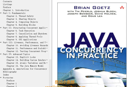【电子书】Java Concurrency in Practice by Brian Goetz,  Tim Peierls, Joshua Bloch, Joseph Bowbeer, David Holmes, Doug Lea(mobi,epub,pdf)
