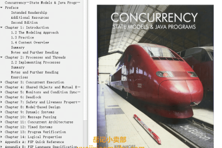【电子书】Concurrency 2nd Edition: State Models and Java Programs by Jeff Magee,  Jeff Kramer(mobi,epub,pdf)
