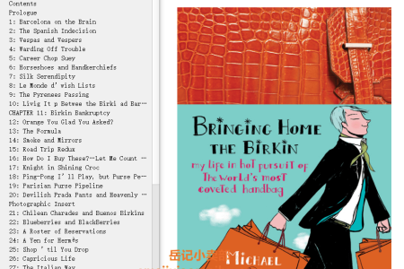 【电子书】Bringing Home the Birkin: My Life in Hot Pursuit of the World's Most Coveted Handbag by Michael Tonello(mobi,epub,pdf)