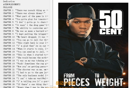 【配音频】From Pieces to Weight: Once Upon a Time in Southside Queens by 50 Cent,  Kris Ex(mobi,epub,pdf)
