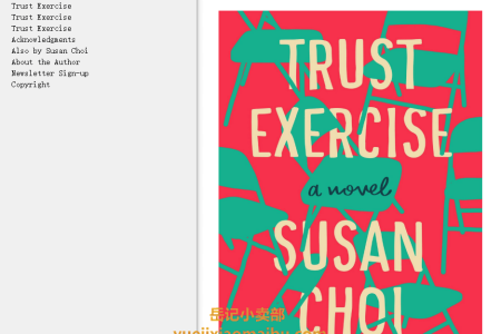【配音频】Trust Exercise by Susan Choi(mobi,epub,pdf)