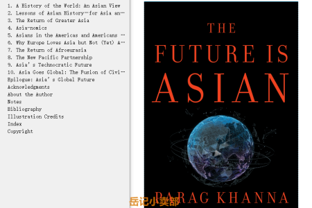 【配音频】The Future Is Asian by Parag Khanna(mobi,epub,pdf)