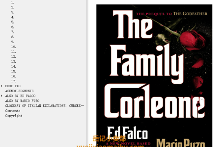 【配音频】The Family Corleone (Mario Puzo's Mafia) by Edward Falco ,  Mario Puzo(mobi,epub,pdf)