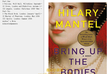 【配音频】Bring Up the Bodies (Thomas Cromwell Trilogy #2) by Hilary Mantel(mobi,epub,pdf)