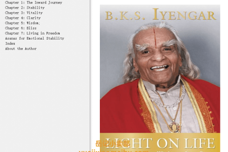 【配音频】Light on Life: The Yoga Journey to Wholeness, Inner Peace, and Ultimate Freedom by B.K.S. Iyengar, Douglas Abrams, John J. Evans(mobi,epub,pdf)