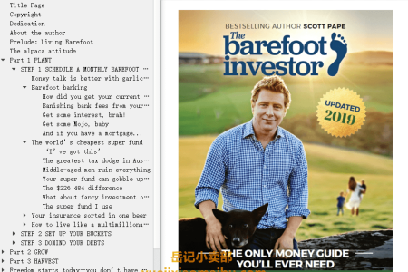 【配音频】The Barefoot Investor 2019: The Only Money Guide You'll Ever Need by Scott Pape(mobi,epub,pdf)
