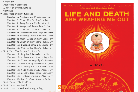【配音频】Life and Death are Wearing Me Out by Mo Yan(mobi,epub,pdf)