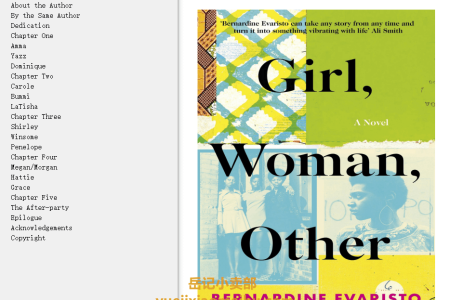 【配音频】Girl, Woman, Other by Bernardine Evaristo(mobi,epub,pdf)