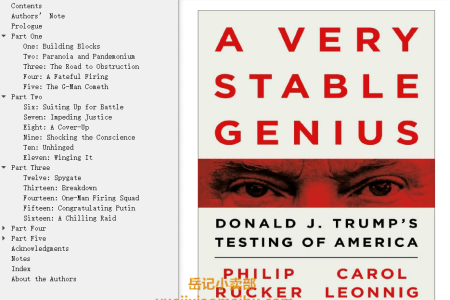 【配音频】A Very Stable Genius: Donald J. Trump's Testing of America by Philip Rucker, Carol Leonnig(mobi,epub,pdf)