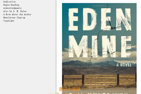 【配音频】Eden Mine by S.M. Hulse(mobi,epub,pdf)