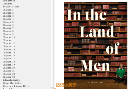 【配音频】In the Land of Men by Adrienne Miller(mobi,epub,pdf)