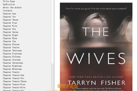 【配音频】The Wives by Tarryn Fisher(mobi,epub,pdf)