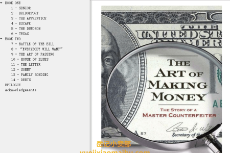 【配音频】The Art of Making Money: The Story of a Master Counterfeiter by Jason Kersten(mobi,epub,pdf)