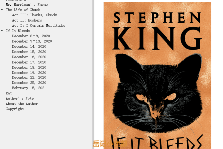 【配音频】If It Bleeds by Stephen King(mobi,epub,pdf)