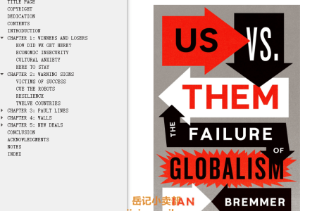 【配音频】Us vs. Them: The Failure of Globalism by Ian Bremmer(mobi,epub,pdf)