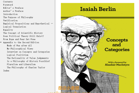 【电子书】Concepts and Categories 2nd Edition: Philosophical Essays by Isaiah Berlin(mobi,epub,pdf)
