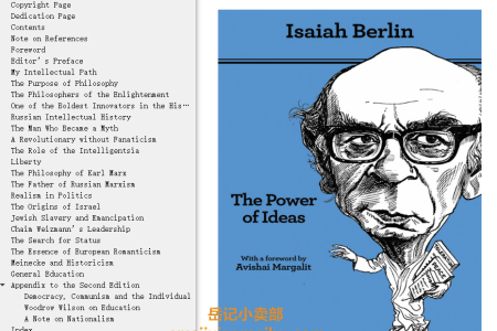 【电子书】The Power of Ideas 2nd Edition by Isaiah Berlin(mobi,epub,pdf)