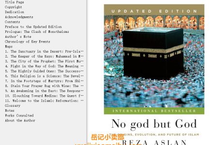 【配音频】No god but God Updated Edition: The Origins, Evolution and Future of Islam by Reza Aslan(mobi,epub,pdf)