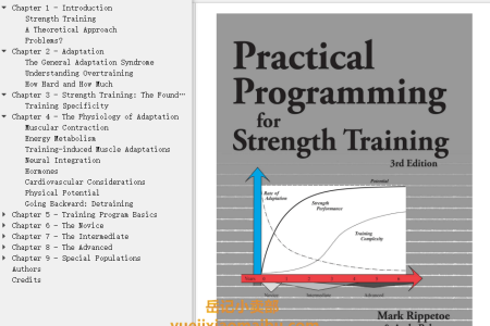 【配音频】Practical Programming for Strength Training 3rd Edition by Mark Rippetoe, Lon Kilgore(mobi,epub,pdf)