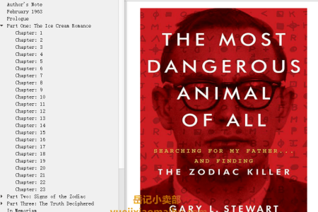 【配音频】The Most Dangerous Animal of All by Gary L. Stewart, Susan D. Mustafa(mobi,epub,pdf)