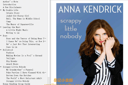 【配音频】Scrappy Little Nobody by Anna Kendrick(mobi,epub,pdf)