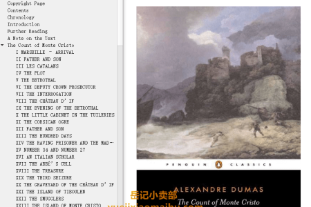 【配音频】The Count of Monte Cristo by Alexandre Dumas(mobi,epub,pdf)