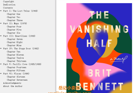 【配音频】The Vanishing Half by Brit Bennett(mobi,epub,pdf)