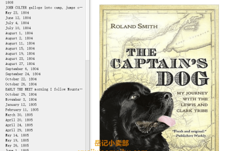 【配音频】The Captain's Dog: My Journey with the Lewis and Clark Tribe by Roland Smith(mobi,epub,pdf)