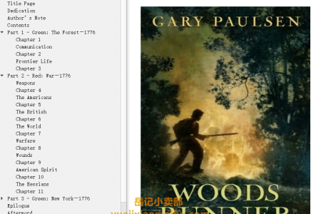 【配音频】Woods Runner by Gary Paulsen(mobi,epub,pdf)