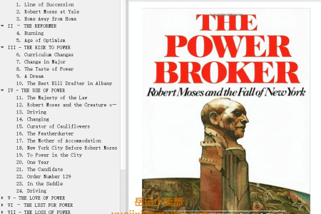 【配音频】The Power Broker: Robert Moses and the Fall of New York by Robert A. Caro(mobi,epub,pdf)