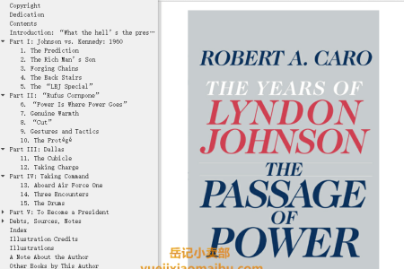 【配音频】The Passage of Power (The Years of Lyndon Johnson #4) by Robert A. Caro(mobi,epub,pdf)