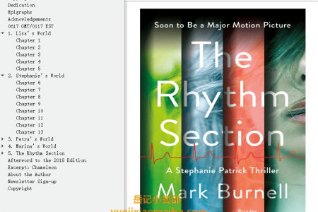 【配音频】The Rhythm Section (Stephanie Patrick #1) by Mark Burnell(mobi,epub,pdf)