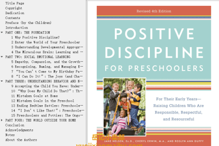 【配音频】Positive Discipline for Preschoolers 4th Edition: For Their Early Years-Raising Children Who are Responsible, Respectful, and Resourceful by Jane Nelsen, Cheryl Erwin, Roslyn Ann Duffy(mobi,epub,pdf)