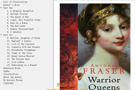【电子书】The Warrior Queens (Medieval Women Boxset) by Antonia Fraser(mobi,epub,pdf)