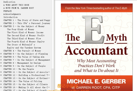 【配音频】The E-Myth Accountant: Why Most Accounting Practices Don't Work and What to Do about It by Michael E. Gerber, M. Darren Root(mobi,epub,pdf)