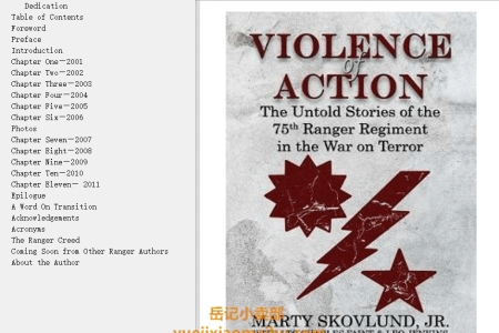 【配音频】Violence of Action(mobi,epub,pdf)